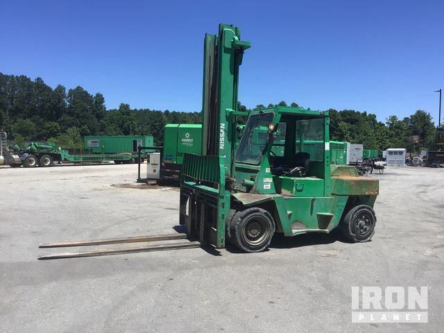 Nissan VF05H70V Pneumatic Tire Forklift in Wake Forest