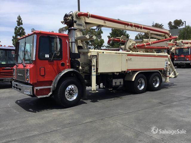 1998 Mack MR688S Concrete Pump Truck in Vista, California