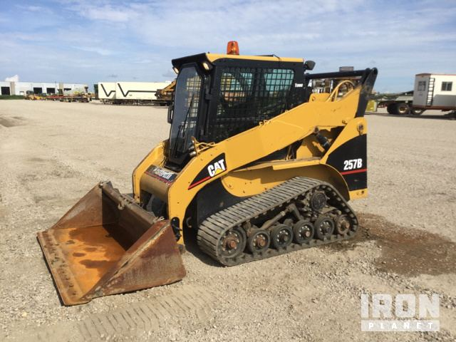 2007 Cat 257B Compact Track Loader In Prinsburg Minnesota