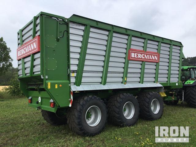 2016 Bergmann HTW 50 Silage Wagon in Emsbueren, Germany