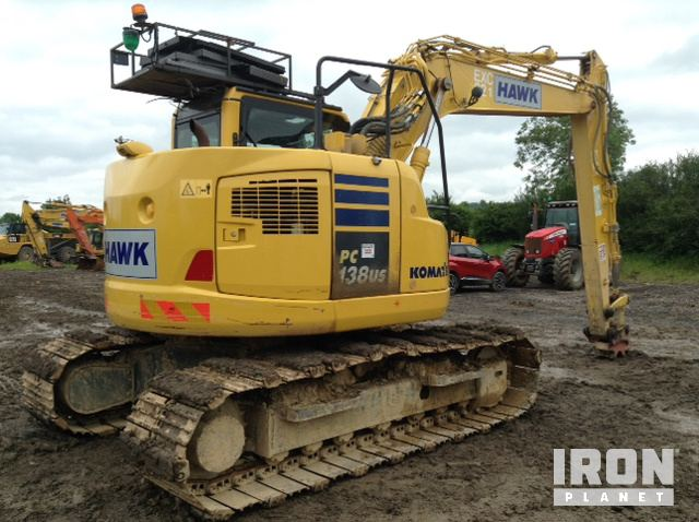 2015 Komatsu PC138US-10 Track Excavator in Bristol, United