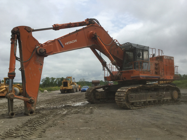 Hitachi EX1100BE Track Excavator