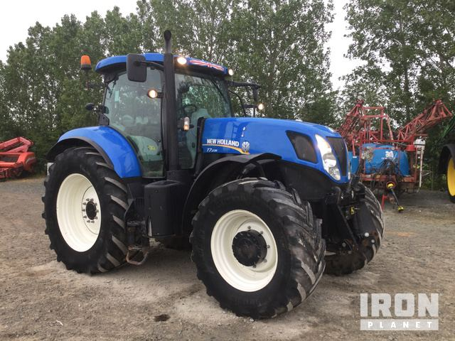 2014 New Holland T7 235 4WD Tractor in Shrewsbury, United
