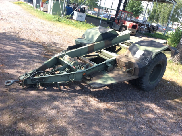 US ARMY Tank Automotive Command Specialty Trailer For Sale