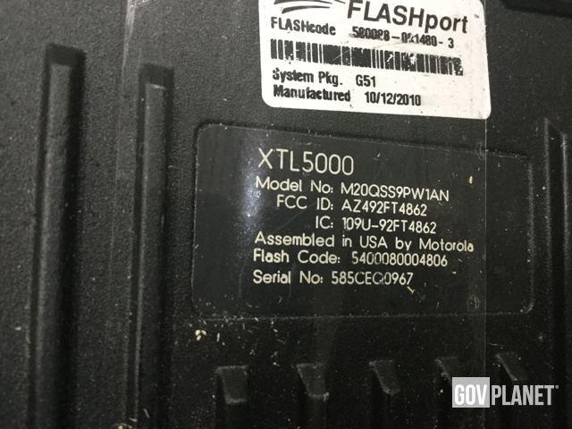Motorola ASTRO XTL 5000 Digital Mobile Radio Receiver-Transmitter
