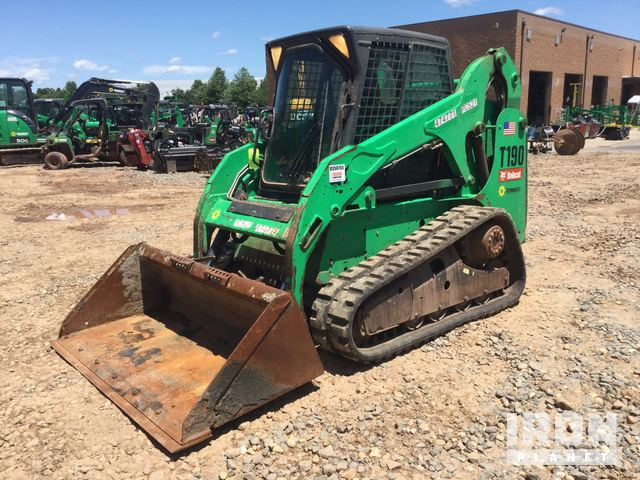 2012 Bobcat T190 Compact Track Loader In Sterling Virginia United