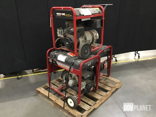 Surplus (3) Electrical Generators and Generator Sets in