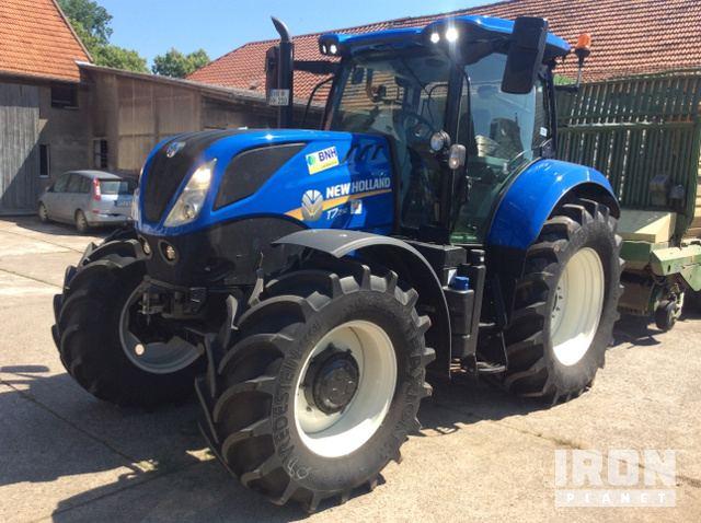2017 New Holland T7 210 PC 4WD Tractor - Ex Demo in Peckselheim