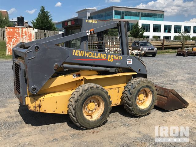 New Holland LS180 Skid-Steer Loader in Winchester, Virginia, United