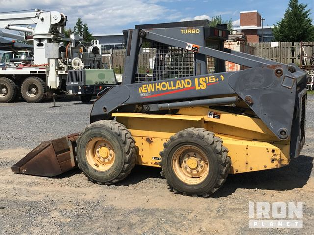 New Holland LS180 Skid-Steer Loader in Winchester, Virginia