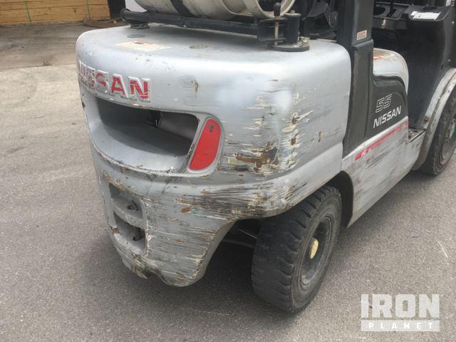2006 (unverified) Nissan PL55LP Pneumatic Tire Forklift in