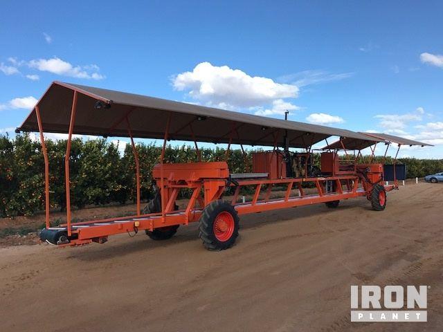 Custom Built Fruit Harvester, Fruit Harvester