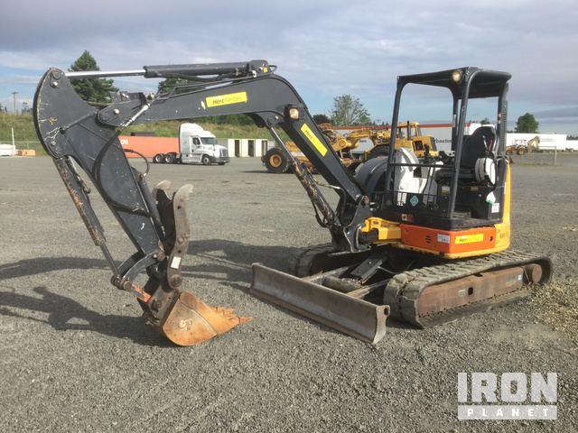 2014 John Deere 50G Mini Excavator in Chehalis, Washington