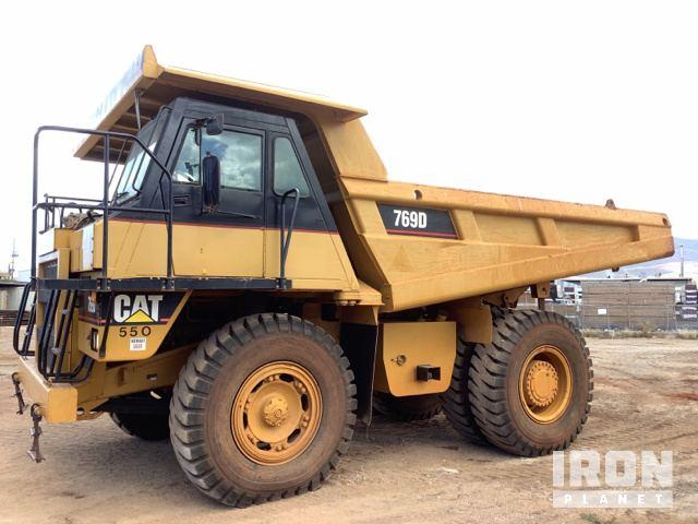 Cat 769D Off-Road End Dump Truck, Rock Truck