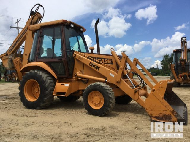 Case 580K 4x4 Backhoe Loader in Concord, New Hampshire
