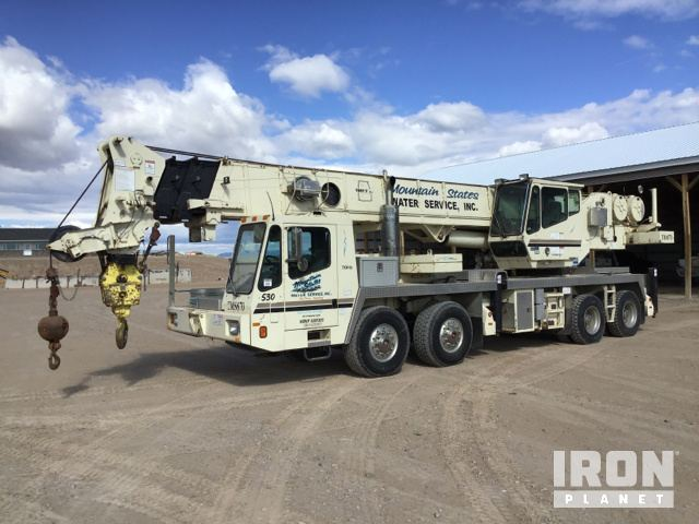 1999 Grove TMS870 Hydraulic Truck Crane, Hydraulic Truck Crane
