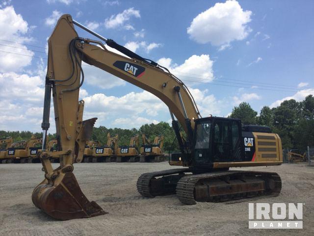Caterpillar 336E H Hydraulic Excavator Specs & Dimensions