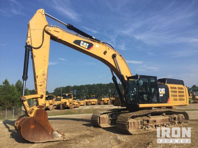 Caterpillar 349F Hydraulic Excavator Specs & Dimensions :: RitchieSpecs