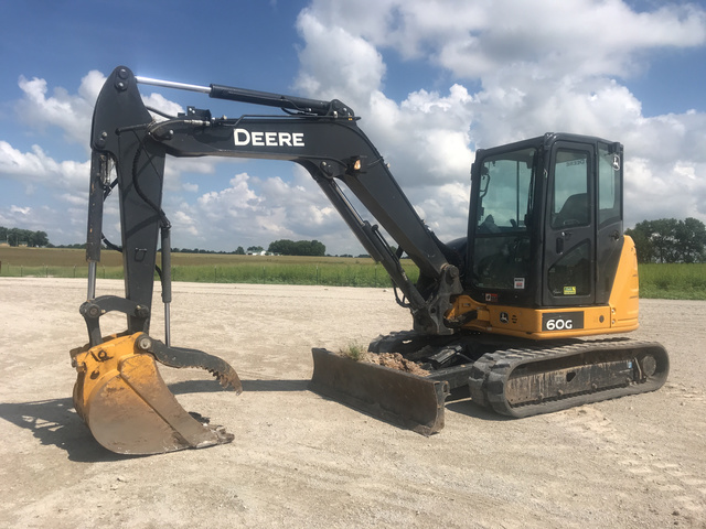 2018 John Deere 60G Mini Excavator