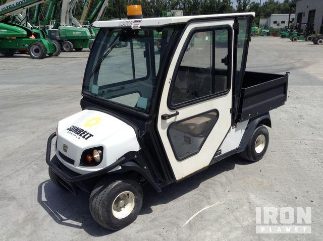 2014 Cushman Hauler 1200 Engine Driven Utility Cart in