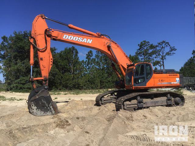 2009 Doosan DX520LC Track Excavator