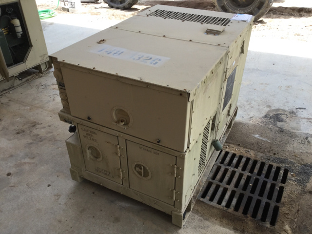 Libby MEP-802A 5kW Generator Set