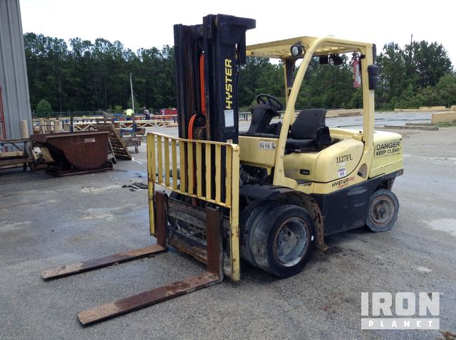 Hyster H90FT Diesel Forklift Specs & Dimensions :: RitchieSpecs