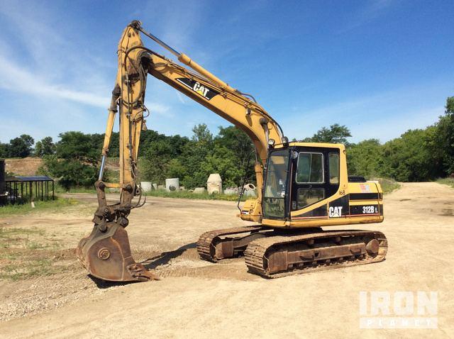 Caterpillar 312B L Hydraulic Excavator Specs & Dimensions