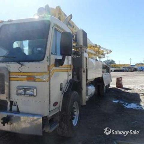 Schwing 2025-5 S 36X Concrete Pump on 2014 Peterbilt 320 T/A