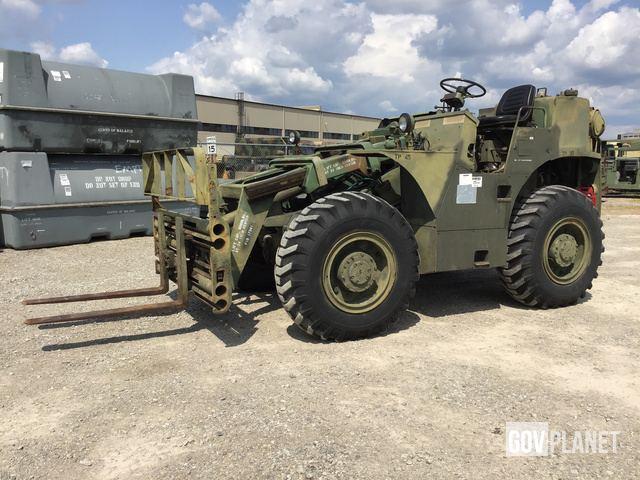 Surplus Anthony MLT-6-67 Rough Terrain Forklift in Whitehall