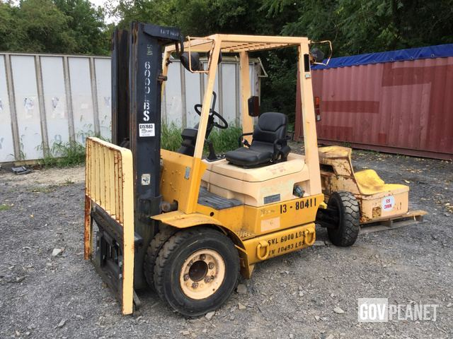 Hyster H60FT Diesel Forklift Specs & Dimensions :: RitchieSpecs