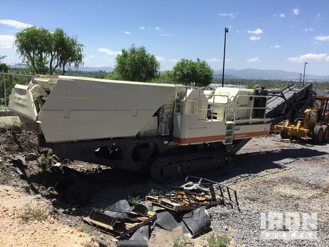 2008 Metso Lokotrack LT105 Tracked Mobile Jaw Crusher Plant
