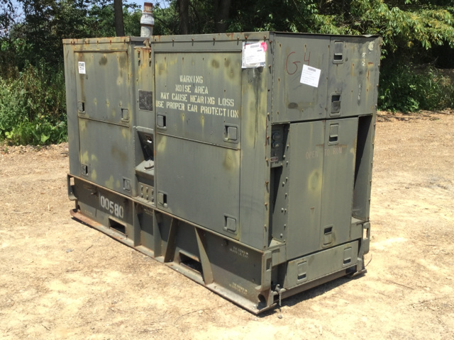 Consolidated Diesel Electric Generator Sets Government