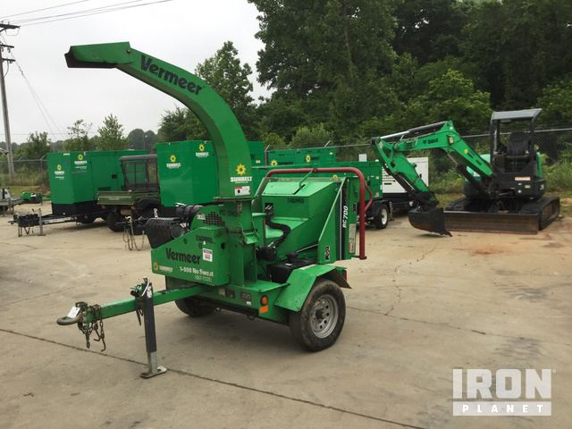 2015 Vermeer BC700XL Chipper in Indian Trail, North Carolina