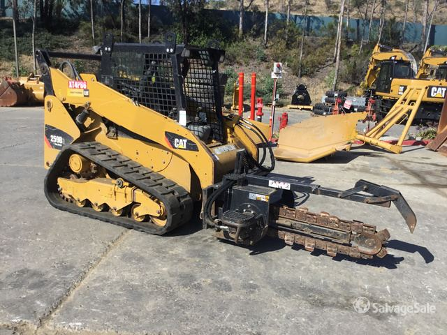 2012 (unverified) Cat 259B3 Compact Track Loader in San