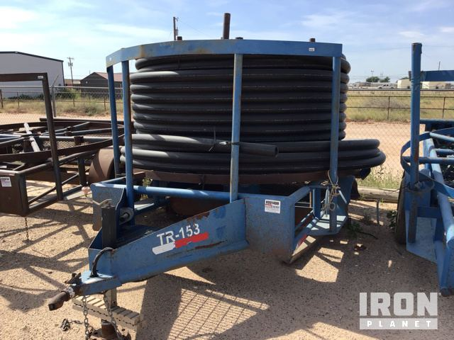 Lot 1115 - Horizontal Poly Pipe S/A Reel Trailer in Midland