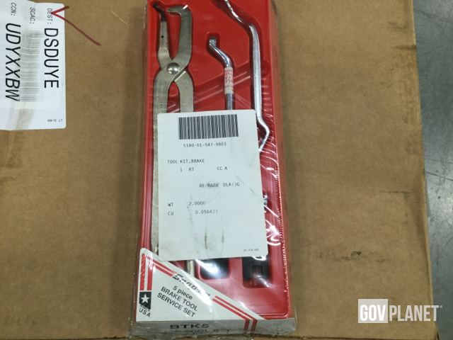 Surplus (56) Snap-On Brake Tool Service Sets in Chambersburg