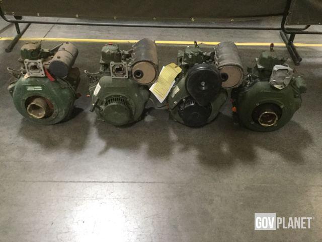 (4) Yanmar Diesel Engines