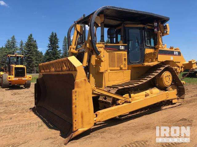 Caterpillar D7R Crawler Tractor Specs & Dimensions :: RitchieSpecs