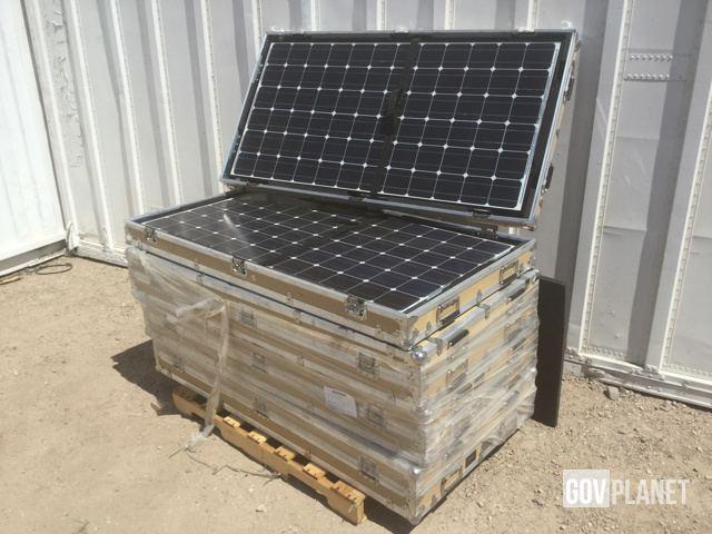 Surplus (4) LM Engineering 19255-B Solar Panels in Yermo, California