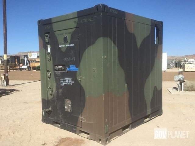 Surplus Seabox SB531 0 Refrigerated Storage Container in