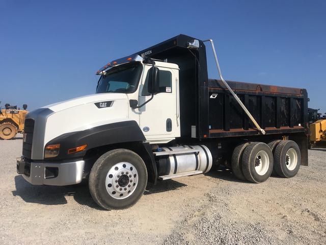 2016 Cat CT660S T/A Dump Truck