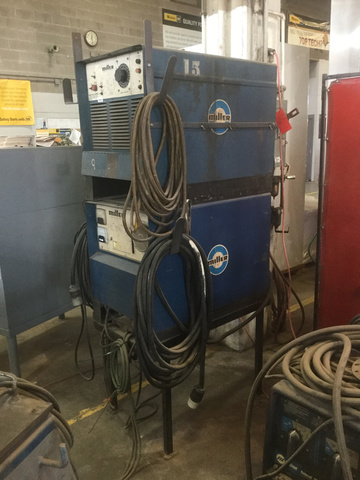 Miller Welders For Sale >> Lot Of 2 Miller Electric Welders 1 Miller