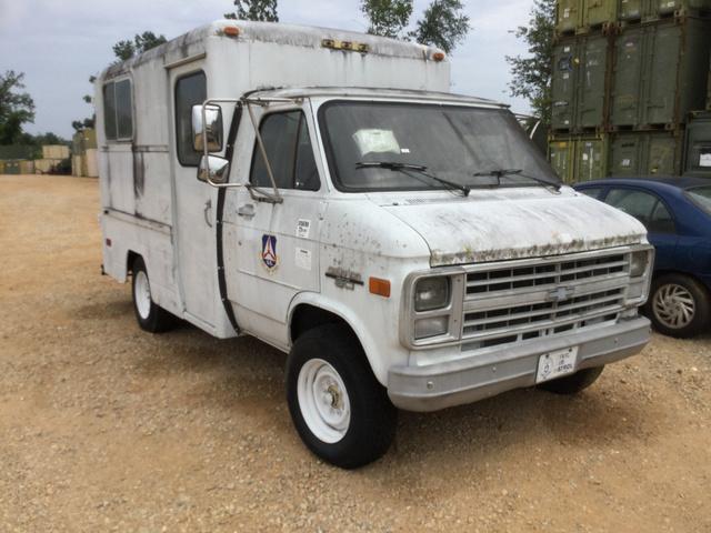 1986 Chevrolet G30 Cargo Van