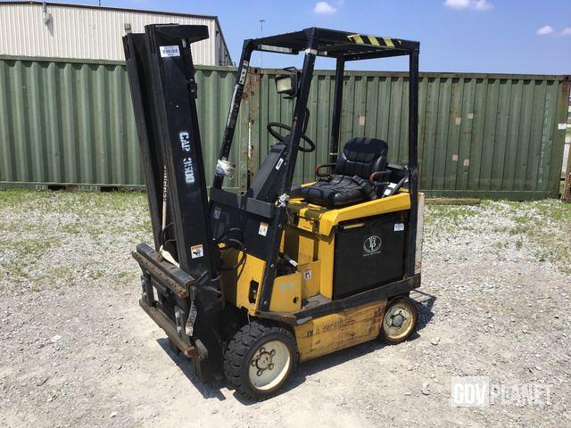 Yale GC030VX Forklift Specs & Dimensions :: RitchieSpecs
