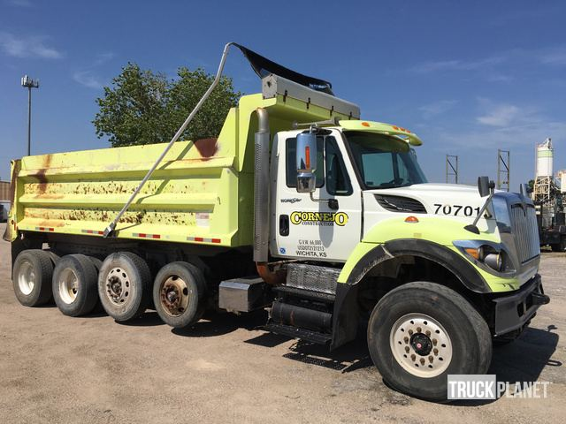 2008 International 7700 Quad/A Dump Truck in Wichita, Kansas