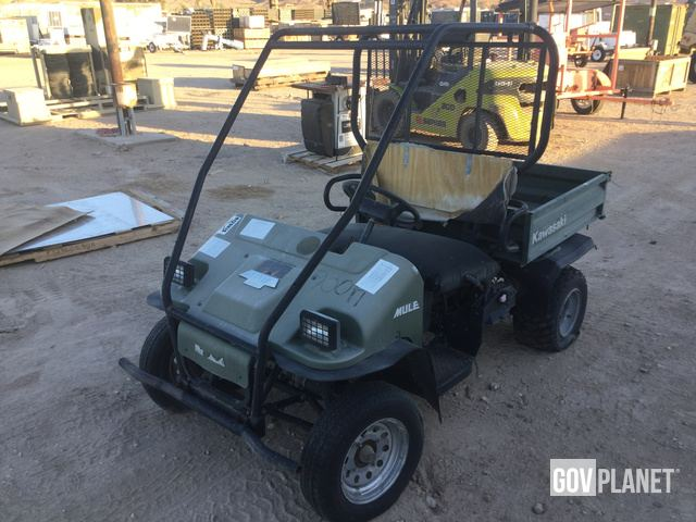 Surplus Kawasaki Mule 550 Utility Vehicle In Barstow