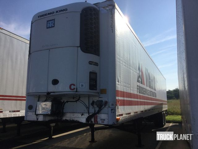 Surplus 2005 Utility VS2RA Refrigerated Trailer in Hebron