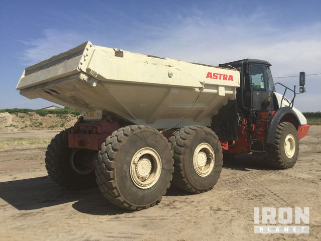 2012 Astra ADT 30D Articulated Dump Truck in Isola Della