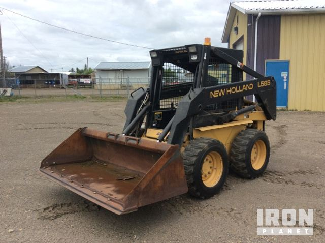 New Holland L185 Skid Steer Loader Specs & Dimensions :: RitchieSpecs